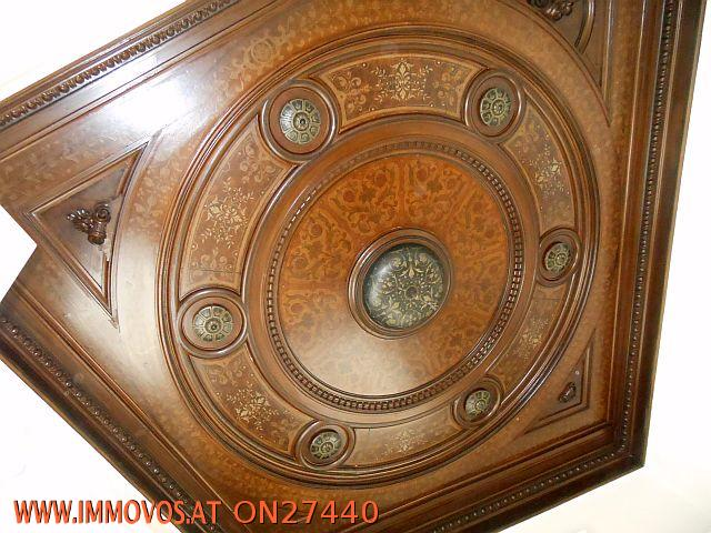 """Detail Decke """"Herrenzimmer"""""""