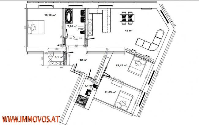 LIEBEVOLL SANIERTE 4-ZIMMER LUXUSWOHNUNG NÄHE NASCHMARKT /  / 1050Wien 5.,Margareten / Bild 2