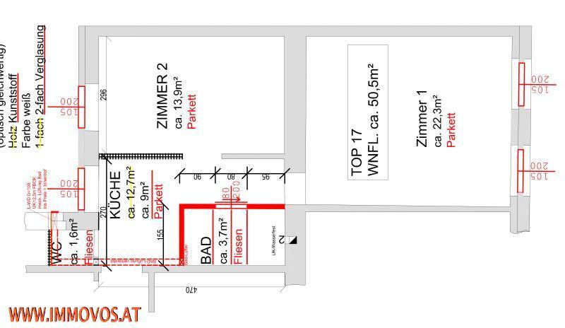 ***RAFFAEL*** smarte 2 Zimmerwohnung beim BRIGITTAPLATZ /  / 1200Wien 20.,Brigittenau / Bild 7