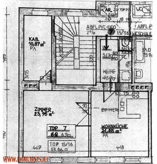 Hell, gute Lage, super Preis! 2-Zimmer Wohnung + Kabinett /  / 1120Wien 12.,Meidling / Bild 7