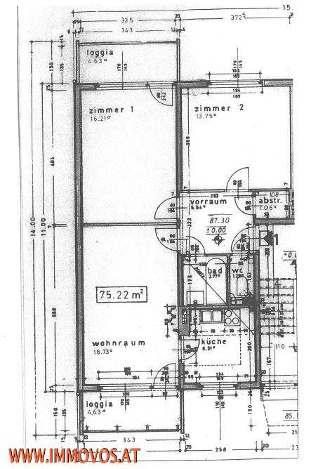 Sehr helle 3-Zimmer Mietwohnung mit 2 Loggias in Rodaun! /  / 1230Wien 23.,Liesing / Bild 7