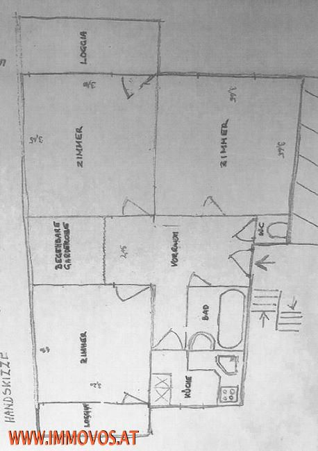 Sehr helle 3-Zimmer Mietwohnung mit 2 Loggias in Rodaun! /  / 1230Wien 23.,Liesing / Bild 8