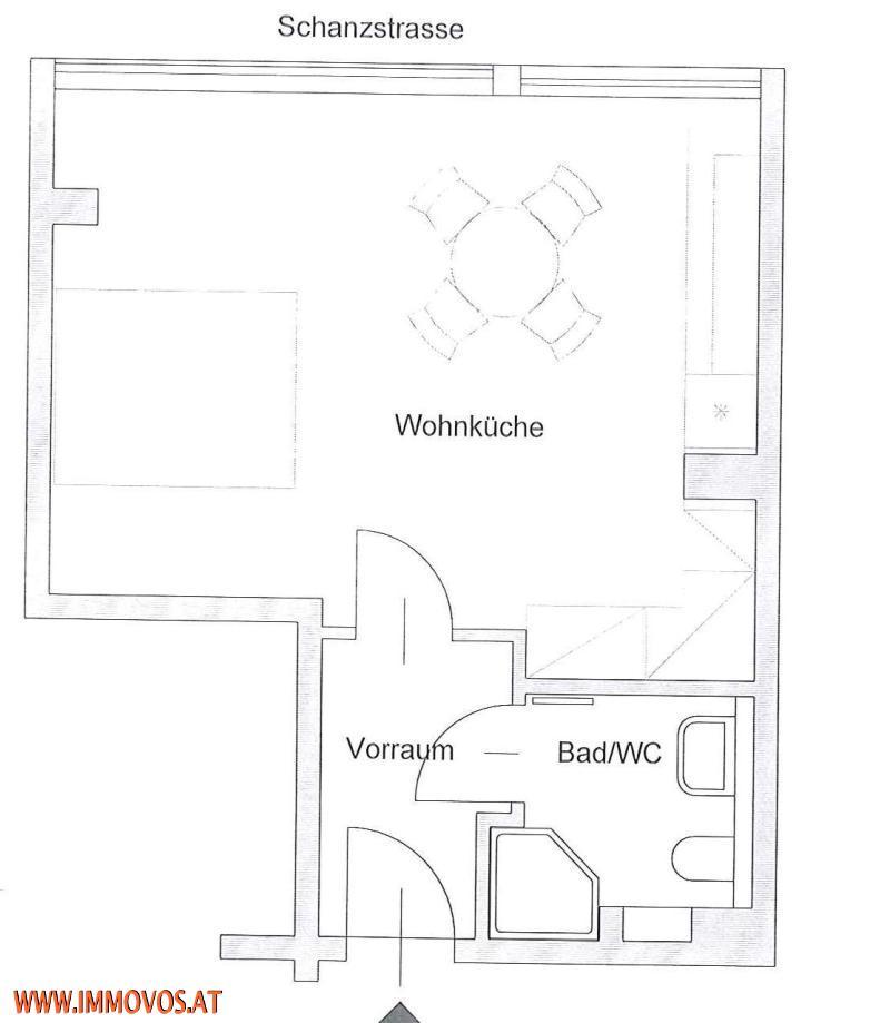 ERSTBEZUG: IDEAL GELEGENE WOHNUNG nächst U3-Station Johnstraße: QUALITÄTSSANIERUNG! /  / 1140Wien 14.,Penzing / Bild 3