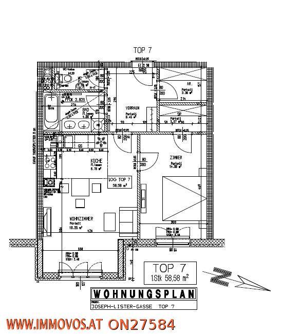 Topstandard – 2 Zimmer - Mietwohnung in absoluter Grünruhelage in eleganter COTTAGELAGE* /  / 1130Wien 13.,Hietzing / Bild 4