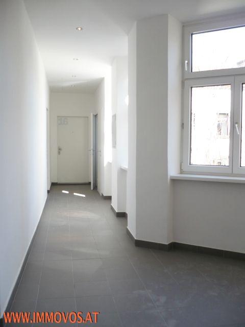 D. Stiegenhaus, Gangansicht