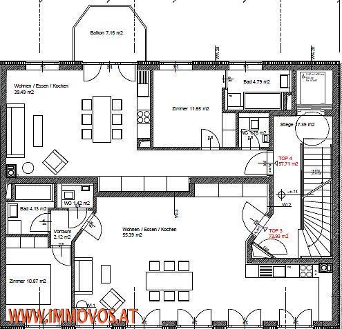 2 benachbarte Anlegerwohnungen  - frei und befristet vermietet /  / 1120Wien 12.,Meidling / Bild 2