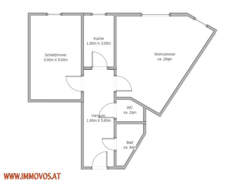 Top Anlegerwohnung! Ideal aufgeteilte 2-Zimmerwohnung mit einer tollen Infrastruktur *U1 vor der Tür! /  / 1100Wien 10.,Favoriten / Bild 7