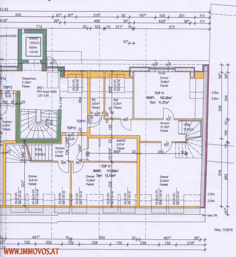 Plan der Ebene 1