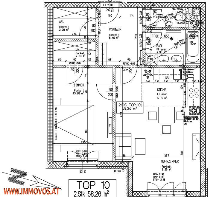 Traumhafte 2 – Zimmer Wohnung in Grünruhelage*  /  / 1130Wien 13.,Hietzing / Bild 7