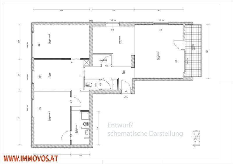 Gartenidylle Gersthofer Cottage: 4 Zimmer Neubau-Familienwohnung mit sonnigem Balkon und Hausgarten /  / 1180Wien 18.,Währing / Bild 4