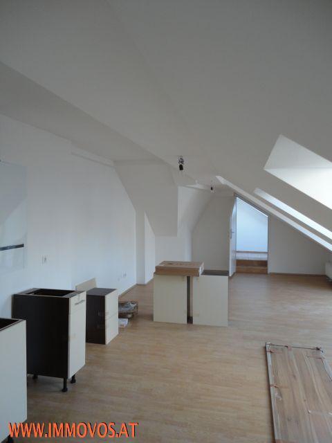Wohnküche vor Fertigstellung