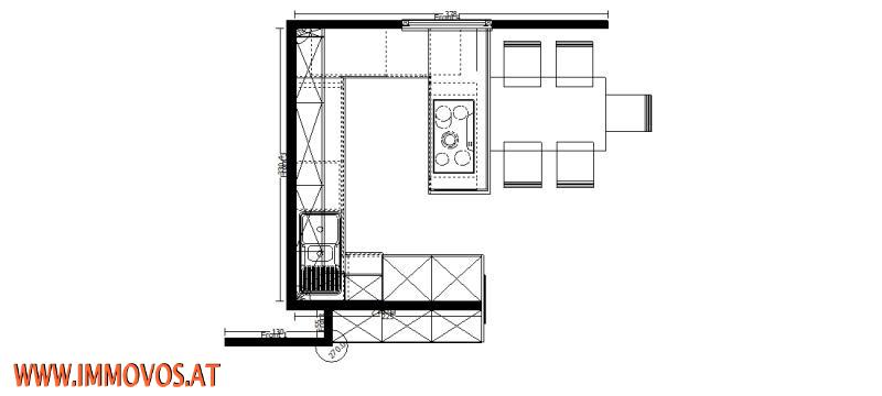 Küchenvorschlag Grundriss
