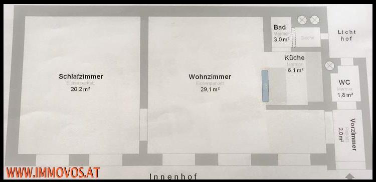 SCHÖNE ALTBAUWOHNUNG NÄHE RATHAUS /  / 1080Wien 8.,Josefstadt / Bild 7