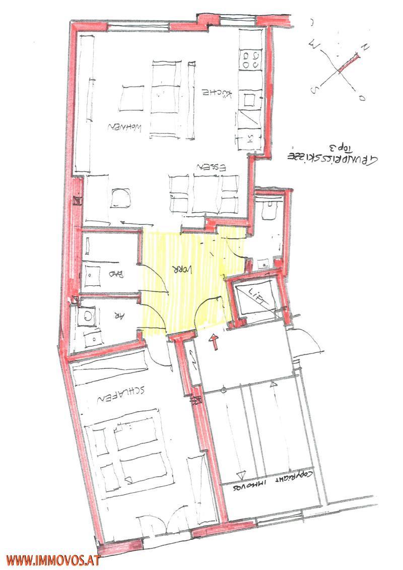 SONNENSTRAHLEN AUF 60 M²   GENERALSANIERTE 2-ZIMMERWOHNUNG NÄHE U6 FLORIDSDORF /  / 1210Wien 21.,Floridsdorf / Bild 8