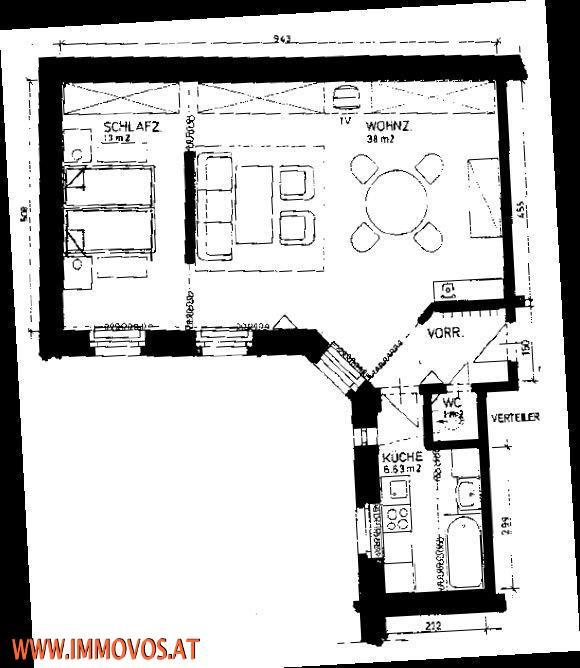 Wohnen im Jugendstilhaus! Vollmöbilierte 2-Zimmer Wohnung, Nahe zur Wiener Oper ...  /  / 1040Wien 4.,Wieden / Bild 5