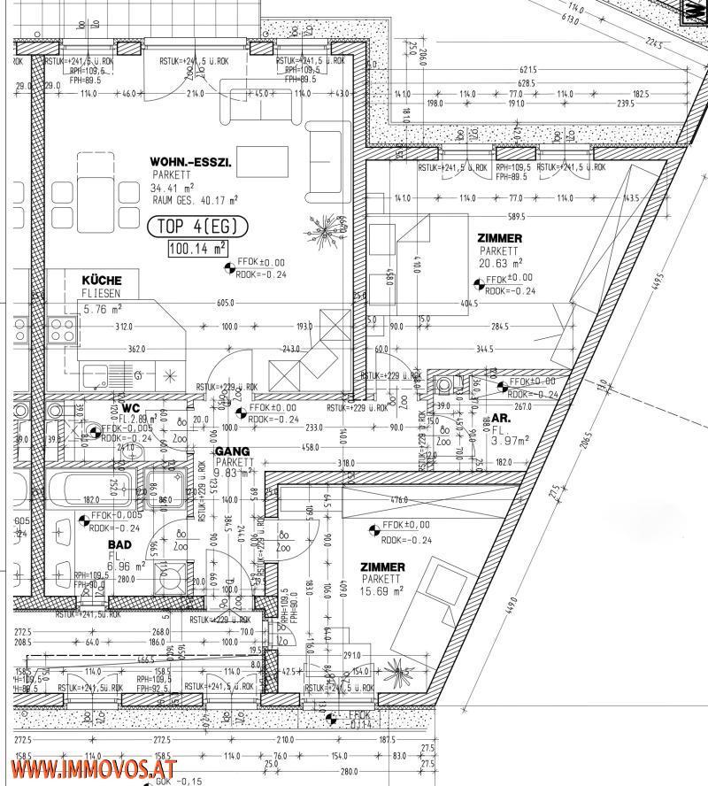 Nahe zu Schönbrunn ... 3-Zimmer Wohnung 98,92m2 mit Terrasse in 1130* Ihr neues Zuhause!  /  / 1130Wien 13.,Hietzing / Bild 8