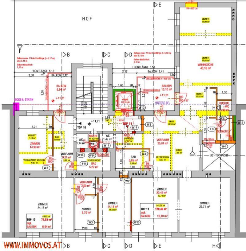 gbild -- +AUFGEPASST+ UNSANIERTE PERLE MIT 78M2, 3,5 ZIMMER MÖGLICH, 1020 WIEN /  / 1020Wien 2.,Leopoldstadt / Bild 9
