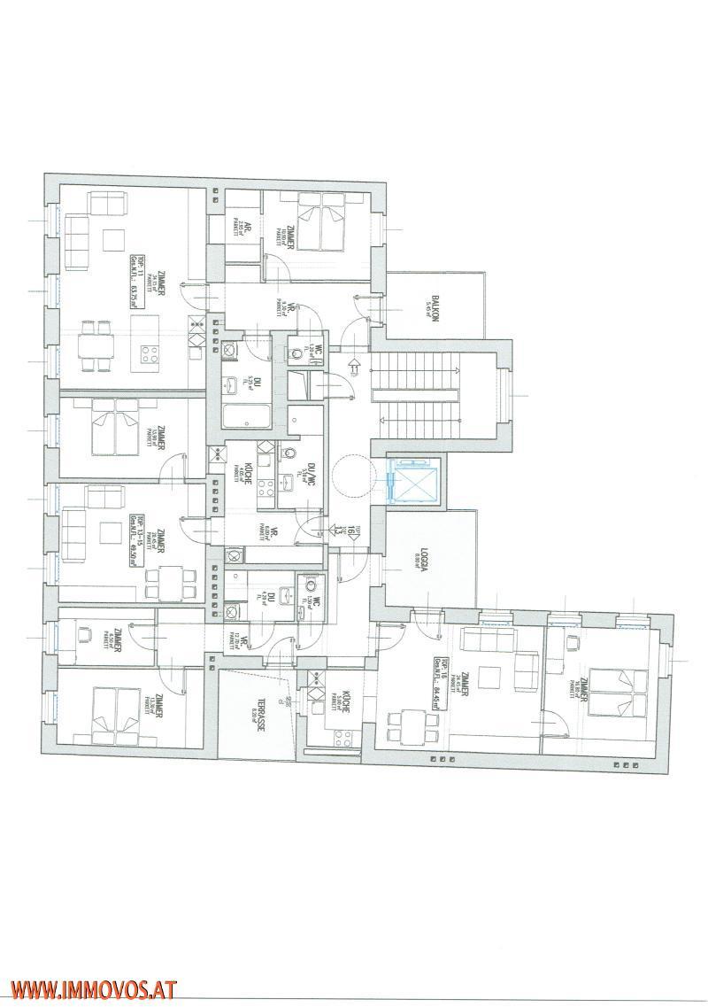 jpgcnt ---- TOPANGEBOT+ZU HAUSE AN DER DONAU-ERSTBEZUG + KERNSANIERTE WOHNUNGSPAKETE MIT FREIFLÄCHEN , 1020 WIEN /  / 1020Wien 2.,Leopoldstadt / Bild 4
