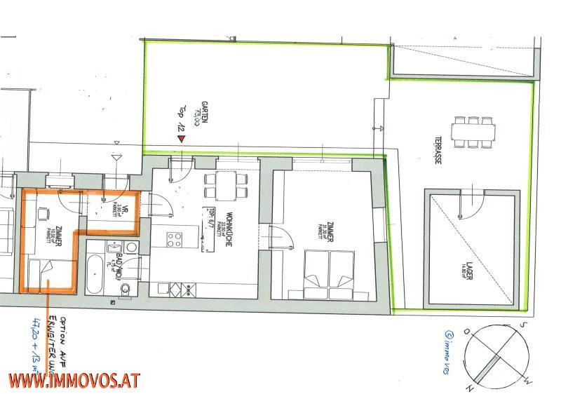 jpgcnt ---- NEU+MÄRCHENHAFT-HOFHAUS MIT GARTEN UND LAGERRAUM, NÄHE DONAU,DONAUMARINA U2, 1020 WIEN /  / 1020Wien 2.,Leopoldstadt / Bild 1