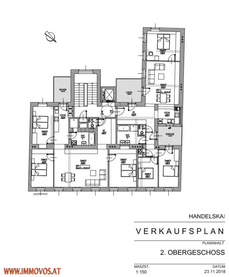 jpgcnt ---- NEU-ANKOMMEN AN DER DONAU-ERSTBEZUG + KERNSANIERTE WOHNUNGSPAKETE MIT FREIFLÄCHEN , 1020 WIEN /  / 1020Wien 2.,Leopoldstadt / Bild 4