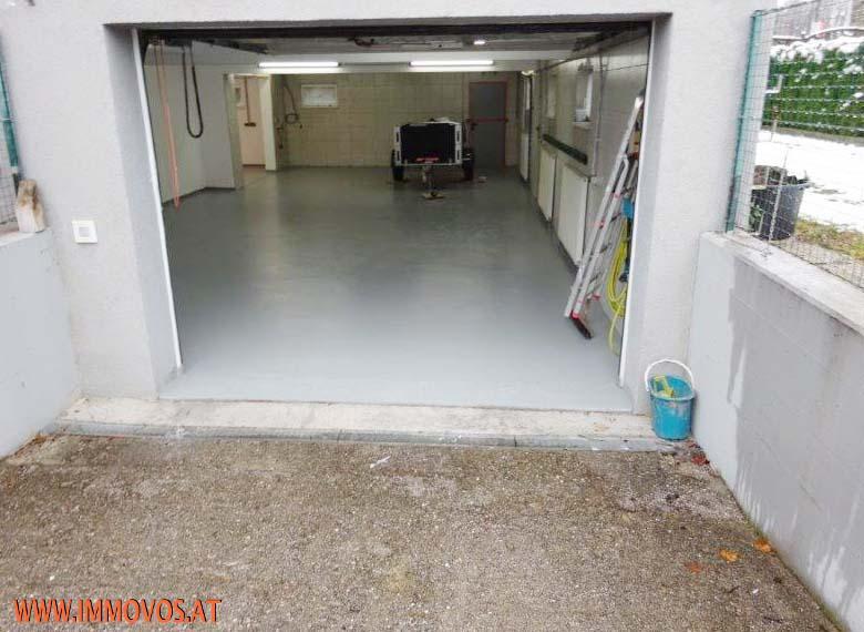Werkstatt gemalt und neuer Boden