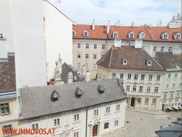 gbild -- PRACHTVOLLE ALTBAURESIDENZ   mit BLICK AUF MÖLKERBASTEI, Universtät Wien /  / 1010Wien 1.,Innere Stadt / Bild 1