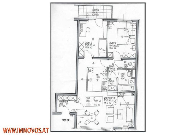 gbild -- 3 Zi Wohnung U3-Nähe /  / 1140Wien 14.,Penzing / Bild 7
