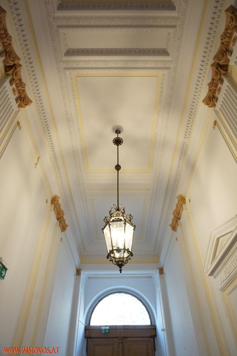 details of the entrance hall