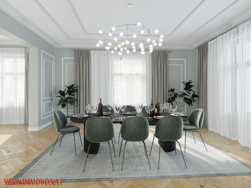 Gestaltungsvorschlag für das Eckzimmer