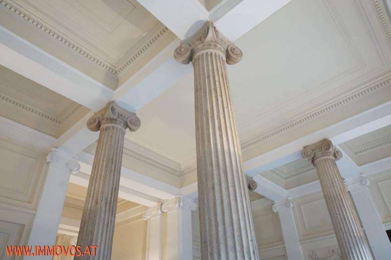 Eingangsbereich Säulenhalle