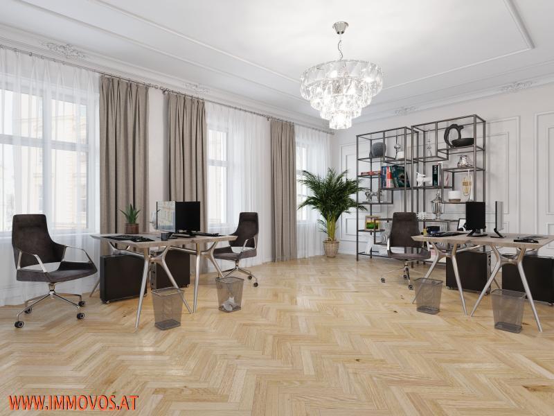 Rendering Vorschlag Büroräume