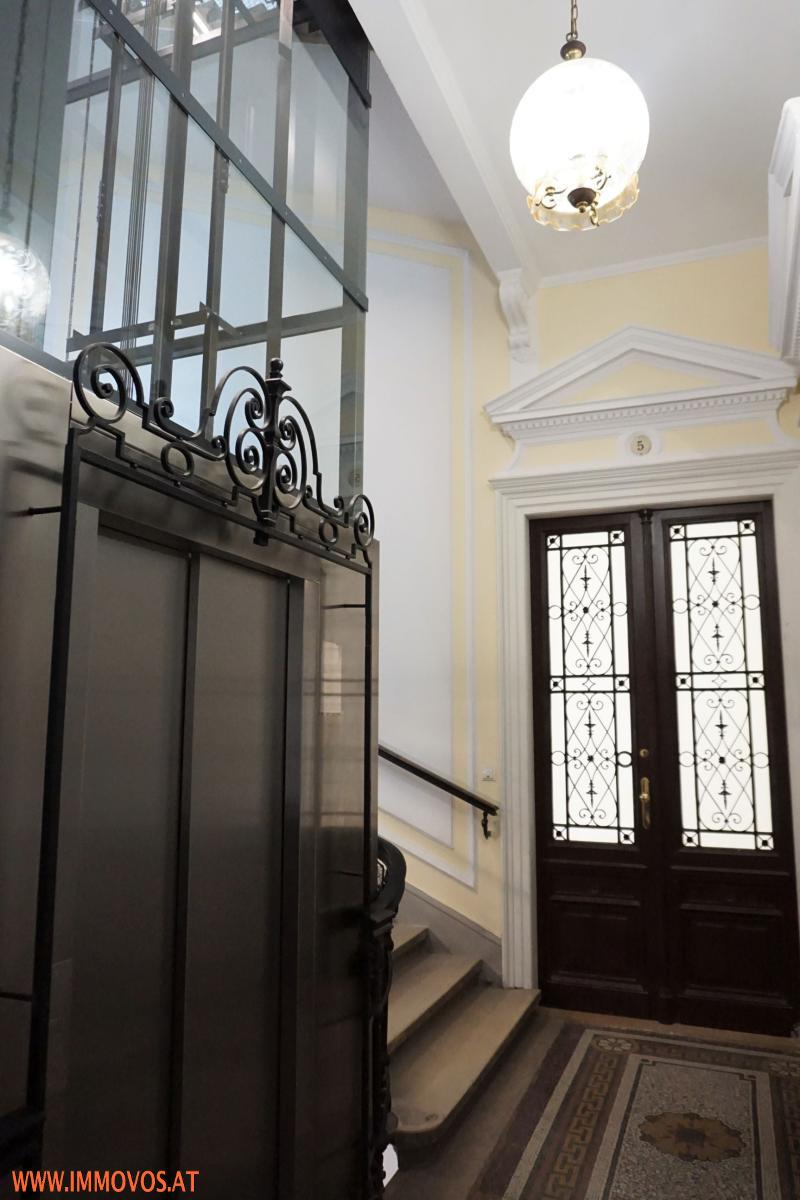 corridor and old-style doors
