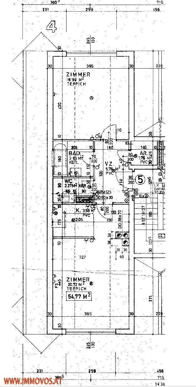 +++Einzugsreife, frisch ausgemalte Zweizimmerwohnung MIT SCHÖNER AUSSICHT IN DER GARTENSTADT++ /  / 2020Hollabrunn / Bild 8