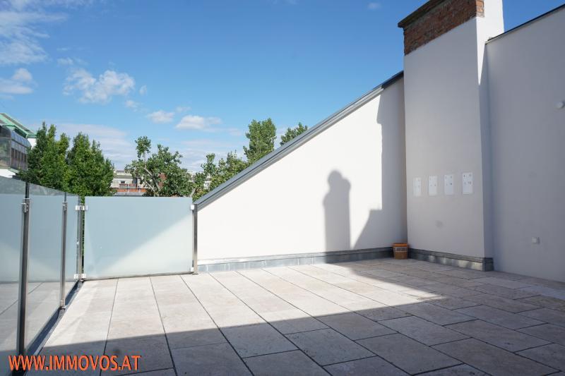 32 m2 sonnige innenhof-Terrasse