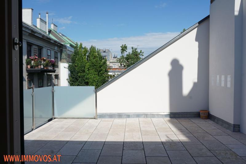 Familienwohnung mit 2 Terrassen + Grünblick auf 1 Ebene -  Exquisiter 4-Zimmer Erstbezug zentral im 8. !!  /  / 1080Wien 8.,Josefstadt / Bild 1