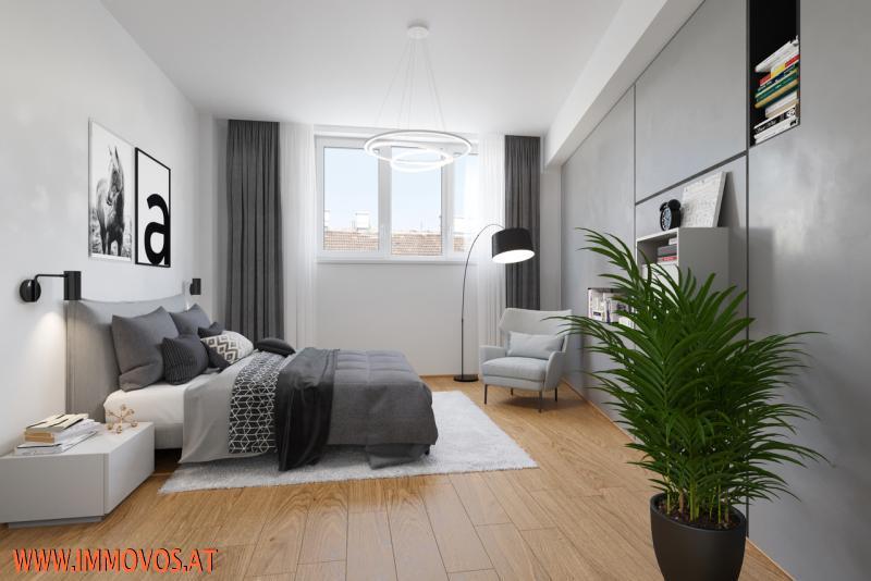 360 Grad Rundgang: Fantastisches Panorama von Penthouse-Terrasse - 4 Zimmer Erstbezug mit Dachterrassen-Traumblick + Stellplatz /  / 1090Wien 9.,Alsergrund / Bild 9