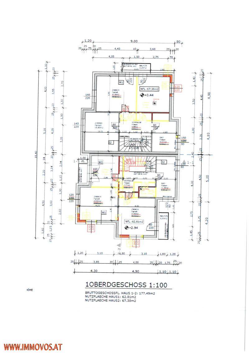 ERSTBEZUG-DOPPELHAUSHÄLFTE-159M2 PLUS 132 M2 GARTEN/TERRASSENFLÄCHE IN PERCHTOLDSDORF- PROVISIONSFREI FÜR DEN KÄUFER /  / 2380Perchtoldsdorf / Bild 8
