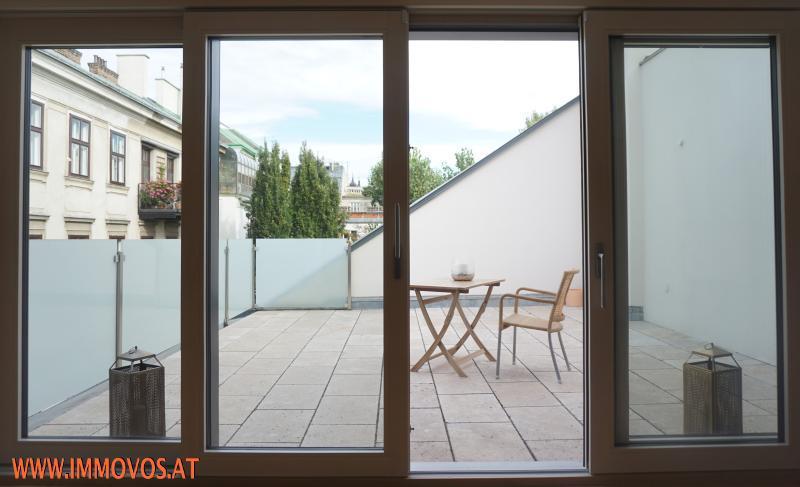 Exquisiter 4 Zimmer DG-Erstbezug mit 2 Terrassen und Grünblick zentral im 8. !! Nur 1e Ebene !! /  / 1080Wien 8.,Josefstadt / Bild 4