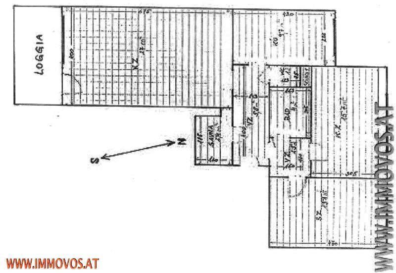 !FERNBLICK.+Loggia+Sauna-80m² Wohnung im 6. Liftstock, WG-tauglich! /  / 1220Wien 22.,Donaustadt / Bild 9