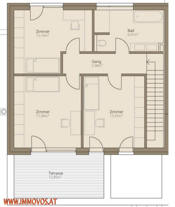 rendering plan 3rd floor