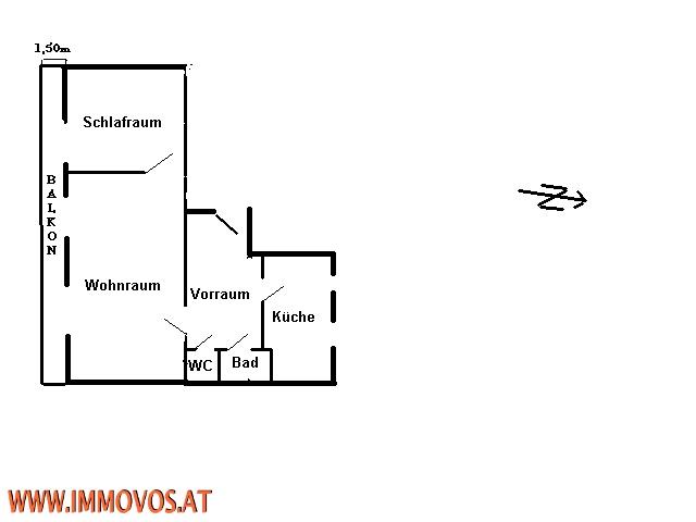 +++SÜDSEITIG WOHNEN IM STADTZENTRUM MIT BALKON: NEUBAUWOHNUNG MIT BLICK ÜBER DONAUKANAL+++ /  / 1020Wien 2.,Leopoldstadt / Bild 4