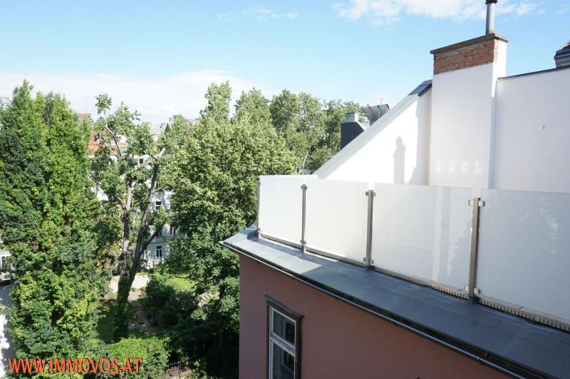 Ausblick von der kleineren Terrasse