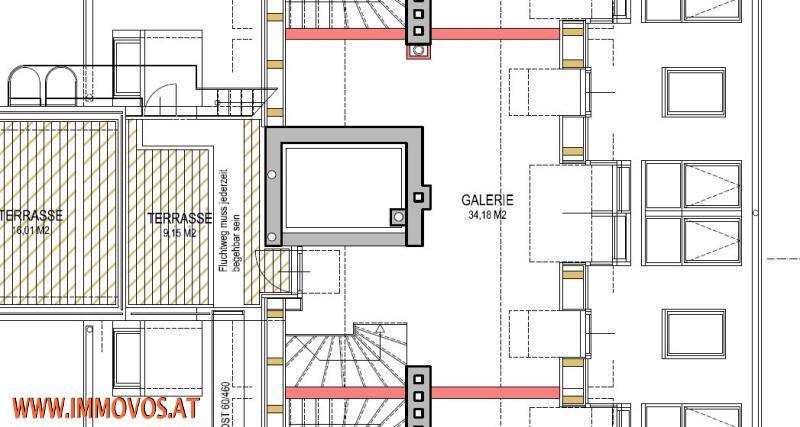 Virtueller Rundgang: ERSTBEZUG! modernes Wohnen * KLIMANEUTRALE DACHGESCHOSSWOHNUNG mit PANORAMABLICK über Wien*  /  / 1030Wien 3.,Landstraße / Bild 6
