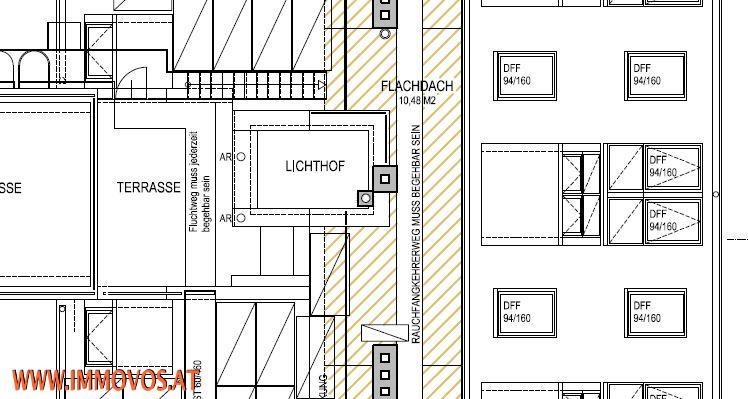 Virtueller Rundgang: ERSTBEZUG! modernes Wohnen * KLIMANEUTRALE DACHGESCHOSSWOHNUNG mit PANORAMABLICK über Wien*  /  / 1030Wien 3.,Landstraße / Bild 7
