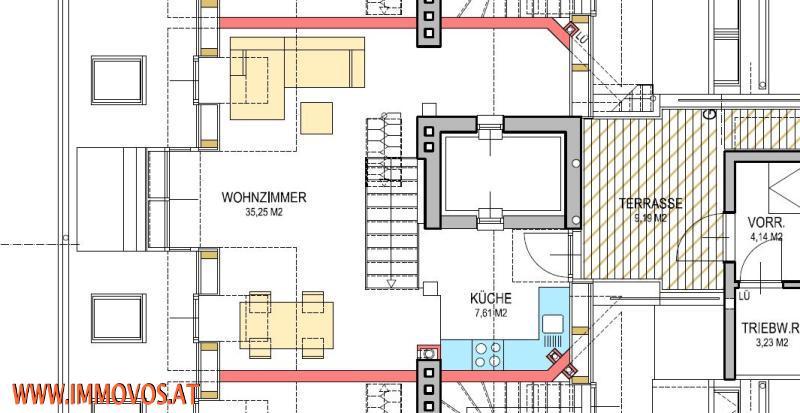 Anlegerwohnung/freier Mietzins! ERSTBEZUG! KLIMANEUTRALE* moderne DG-Wohnung mit 2 Terrassen mit einen TRAUMHAFTEN BLICK über die Dächer Wiens* /  / 1030Wien 3.,Landstraße / Bild 4