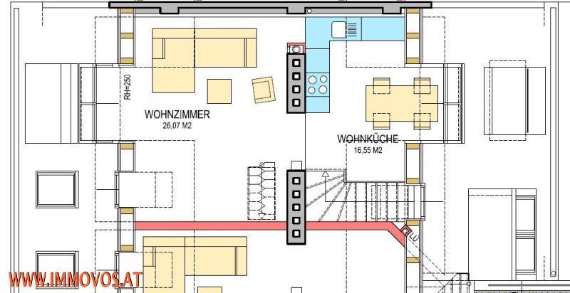 Anlegerwohnung/freier Mietzins! ERSTBEZUG! modernes Wohnen mit einen TRAUMHAFTEN BLICK über die Dächer Wiens* /  / 1030Wien 3.,Landstraße / Bild 12