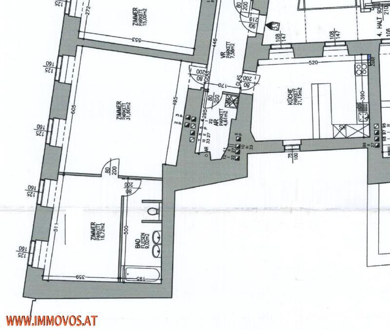 TUCHLAUBEN-LANDSKRONGASSE: PERFEKTE STADTWOHNUNG IN HISTORISCHEM WOHNHAUS /  / 1010Wien 1.,Innere Stadt / Bild 8