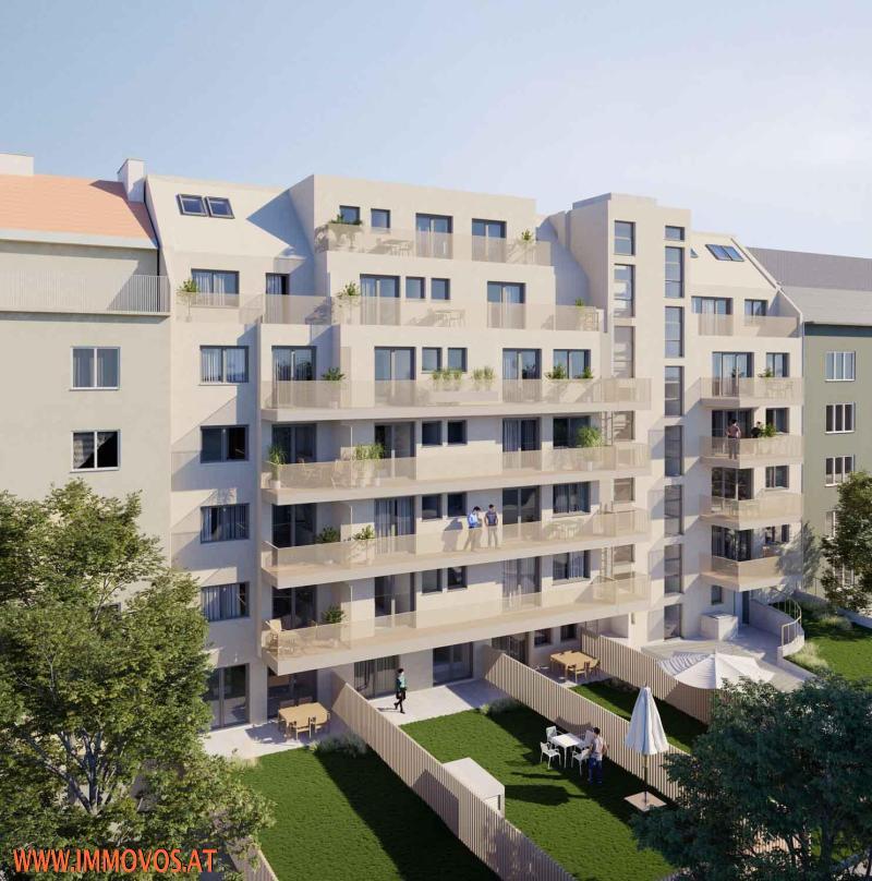 3-Zimmer-Wohnung mit Balkon - BEZUGSFERTIG SEP. 2021 - ENDNUTZER UND ANLEGER /  / 1210Wien 21.,Floridsdorf / Bild 0