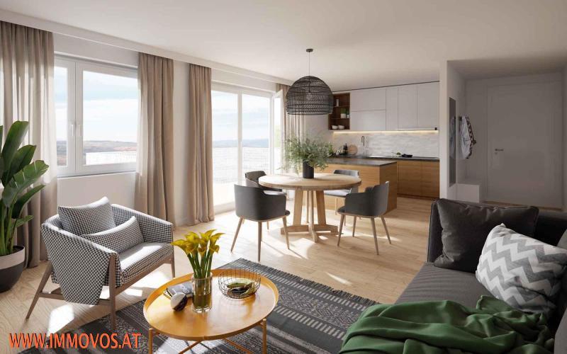 3-Zimmer-Wohnung mit Balkon - BEZUGSFERTIG SEP. 2021 - ENDNUTZER UND ANLEGER /  / 1210Wien 21.,Floridsdorf / Bild 4