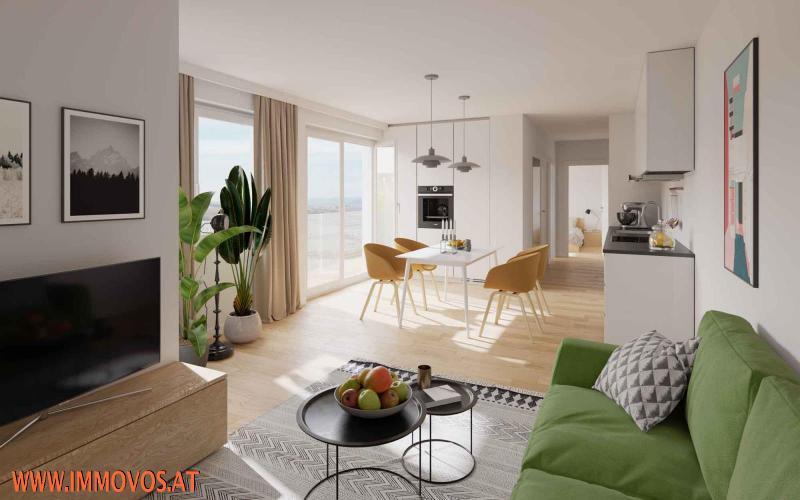 3-Zimmer-Wohnung mit Balkon - BEZUGSFERTIG SEP. 2021 - ENDNUTZER UND ANLEGER /  / 1210Wien 21.,Floridsdorf / Bild 5